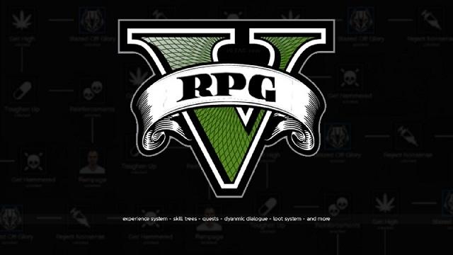 GTA 5 ให้เป็นเกมแนว RPG